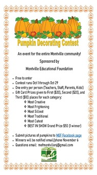 MEF Pumpkin Decorating Contest