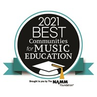 NAMM Names Montville Township Public Schools a Nationally Recognized Best Communities for Music Education for 2021