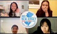 4 MTHS Forensics students earned State Champion status at the 2021 New Jersey Speech and Debate League State Championship held on march 19 and 20.