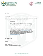 NJDOE Parent Survey Letter