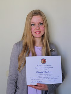 In January, 2021, Hollfelder, Bazhenov, and Kuznetsova each received a Certificate of Special Congressional Recognition, dated December 16, 2020, and signed by Congresswoman Mikie Sherrill.