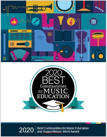 NAMM names Montville Township Public Schools a 2020 Best Communities for Music Education