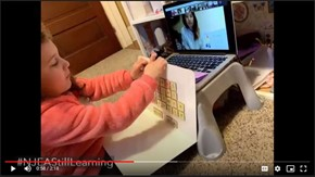 NJEA Distance Learning video Still Learning Kindergarten Online